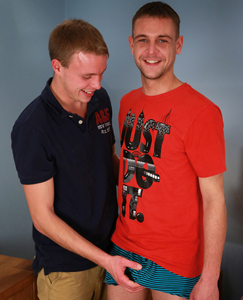 Englishlads.com: Naughty Straight Lad Chris gets a Right Good Fucking by Jason's Extra Large Uncut Cock!