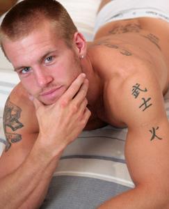 Englishlads.com: New lad Jon - Muscular and very toned and rock hard in all the right places!