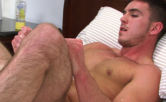 Str8, Hung, Muscular, Hairy, Cheeky - No Wonder Patrick is Member's Favourite!