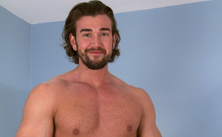 Englishlads.com: Straight Hunk Will Wanks His Chunky Uncut Cock and Shows off his Hot Hairy Hole!
