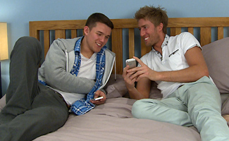 Englishlads.com: Straight Lads Stewart & Josh in Hot Fucking Action