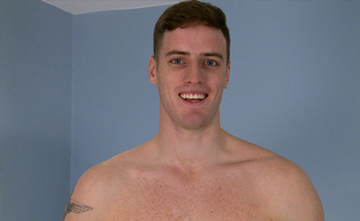 Englishlads.com: Straight, Tall & Muscular, Dan Shows us his Massive Uncut Cock - Its Thick as Well as Long!
