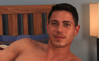 Englishlads.com: Straight Young Athlete Connor Pumps His Muscles and Pumps His Hole for the 1st Time!