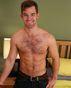 Englishlads.com: Straight Young Hairy Pup Travis Shows off His Muscular & Ripped Body & Ultra Hard Uncut Cock!