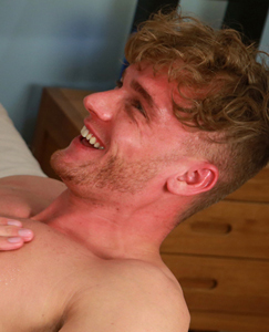 Englishlads.com: Tall Blond Hunk Noah gets his 1st Man Handling & Cums & Cums & Cums and Cums & Cums! Wow...