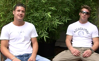 Englishlads.com: Two Str8 Danny's outside