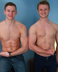 Englishlads.com: Two Straight Blond Hunks with Beautifully Hard Uncut Erections!