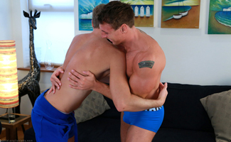 Bonus Photo Shoot Video - Double Video Where Josh Gets Fucked for the 1st Time and then for the 2nd Time!