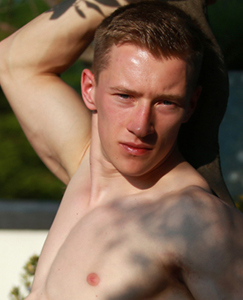 Englishlads.com: Ultra Ripped and Muscular Young Straight Lad Tom Shows us his Massive Uncut Cock!