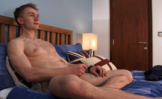 Young Straight Yoga Teacher Will Richards Shows How Flexible he is and Cums Loads!