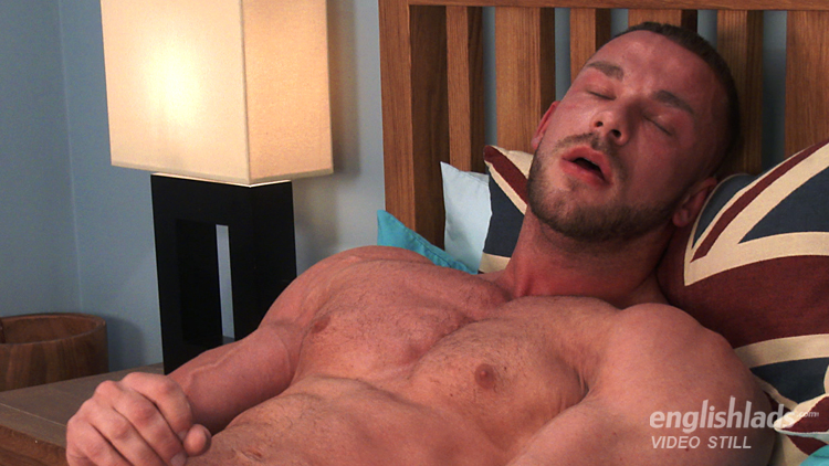 Muscular Straight Man Conall Shows Us His Big Uncut Cock Fires Loads Of Cum