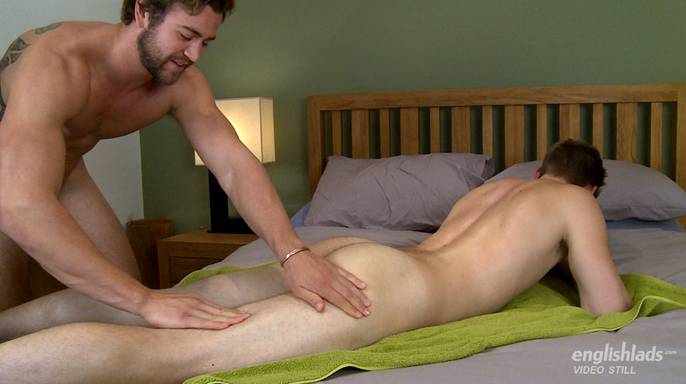Hairy stud wanking gets cock sucked