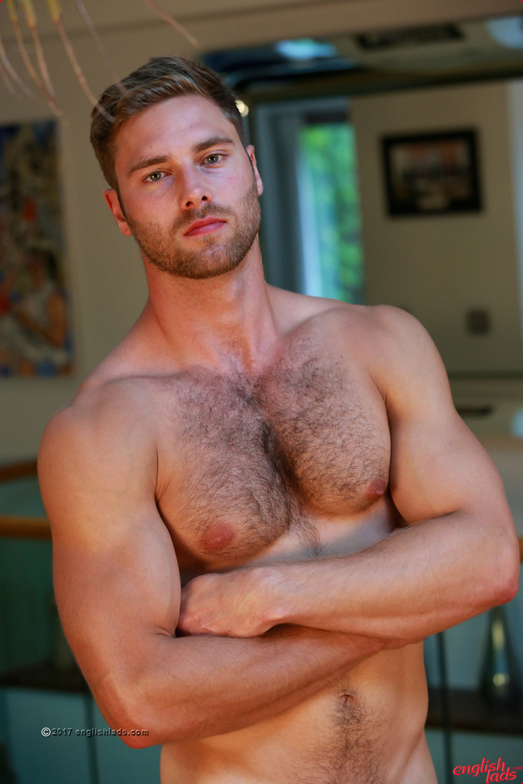 Think, that hunk hairy body