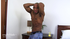 Straight Rugby Pro Andy Showing off His Muscular Body & Massive Cock!