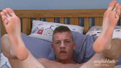 Super Horny Ash Wanks His 8-inch Cock Hard and Fast and Cums Loads!