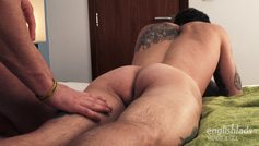 Straight Hunk Barclay gets his First Manhandling from Joel and Wanks his 1st Cock!