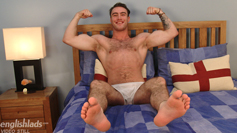 Straight & Hairy Blake Hurd Pumps his Massive Uncut Cock and Shoots his Big Load!