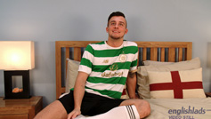 Young Pup Caeden Strips out his Football Kit and Fucks Himself with a Big Dildo!
