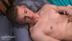 Tall Straight Lad Christian Strips Off and Reveals his Massive Uncut Cock!