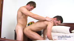 Straight PT Danny Fucks his First Ass and Lucky Justin!