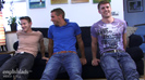Straight Hunk Dan James gets blown by Darius who gets Fucked by Dan Broughton!