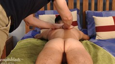 Young, Straight & Toned Marco's 1st Ever Man Handling & he Shoots Jizz Everywhere!