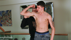Young Straight Pup Marco gets Wanked by Naughty Dominic & Both Studs Shoot Massive Loads!
