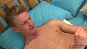 Young Harry & his 1st Anal Experience - The Dildo Keeping his Uncut Big Cock Rock Hard!