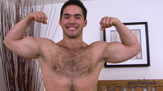 Str8 & How Hairy Jerry Vale - str8 hunk & how pumped up lets loose!