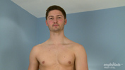 Straight Young Footballer John Shows Off His Muscles & Hard Uncut Cock and Cums Twice!