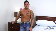 Muscular Straight Hunk Lance in his Dildo Extravaganza Master Class!