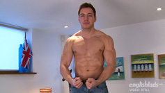 Muscular Straight Farmer Boy Max Shows us his Uncut Large Cock & Hairy Hole!
