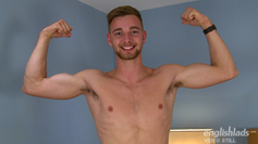 Young Straight Lad Noah Shows off his Toned Body & Very Hard Uncut Rocket Cock!
