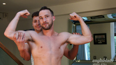 Straight Hunk Rich Wills Returns and Wanks off Young Straight Pup Jack Harper & Lots of Cum!