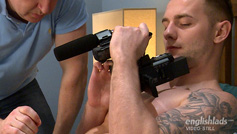 Straight Hunk Thomas and His Uncut Cock Get 1st Wank From a Man & Shoots Loads of Cum!