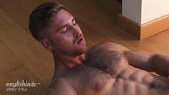 Straight Young Rugby Hunk Tom Shows us his Hairy Body & Big Uncut Cock!