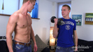 Testosterone Pumping Straight Hunks Zack Elliot & Chris Little Mess Over Each Other!