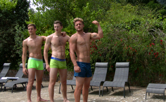 Bonus Video of Aaron, Andrew and Joel's Photo Shoot - 3 Straight Lads in the Sunshine!