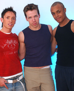Englishlads.com: Anton, Christopher & Tyson in the site's first threesome fucking shoot!