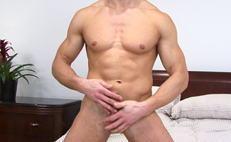 Peter Lisak Blond Muscular & Tall - Doesn't Stop There as he is Hung!