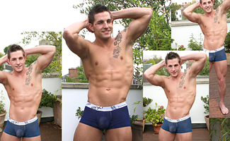 Lance Rowen BONUS VIDEO - Hunky Straight Lad Lance's video of his Photo Shoot