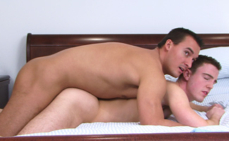 Bonus Video of Photoshoot - Straight Hunk Michael fucks JP's Ass til Smoking Hot!