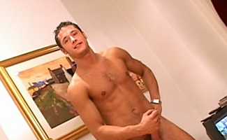 Danny Boy's 1st shoot for a gay site