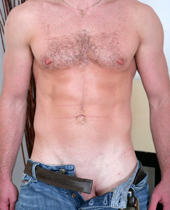 Englishlads.com: Fit Marine Brett - everything about him is well built and hard!