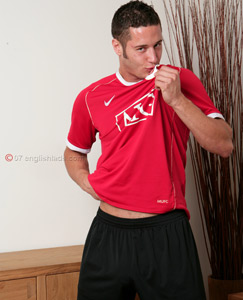 Englishlads.com: Footie kit wank