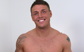 Former Royal Marine Tyler Gets Massaged & Blown by Mr Naughty UK - Lucky Dan Broughton!