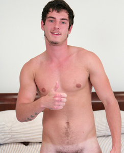 Englishlads.com: Naughty Straight Hunk Liam - His 1st Time Playing With a Dildo & Wow What a Cum Shot!