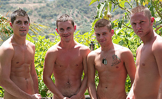 Will Jamieson & Kev Adamson & Jake Cooper & Anthony Clarke Orgy in Paradise