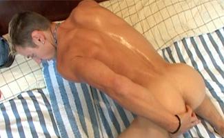N toby snow underwear swimwear posing lad solo guy getting massaged hunk toby