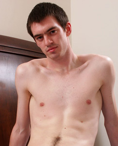 Englishlads.com: Straight guy Tom strips out of his hockey kit before fingering his hole and playing with his foreskin